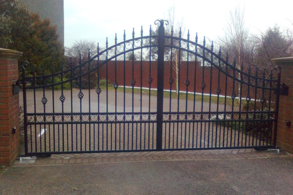 Northumberland Timber 5 bar Gate