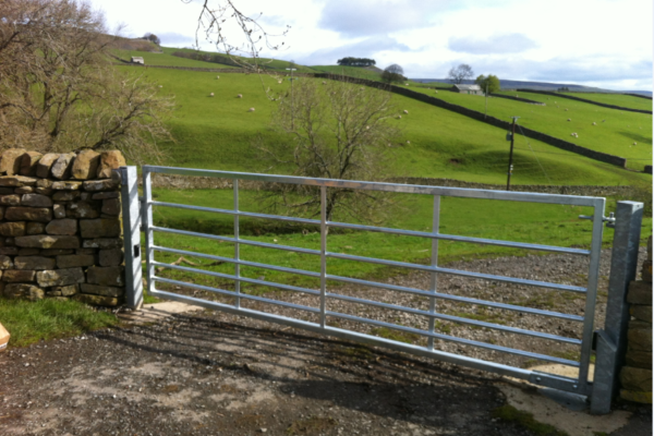 Galvanised Farm Gate