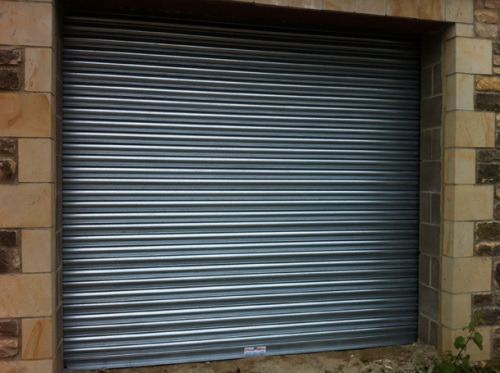 Electric Roller Garage Doors