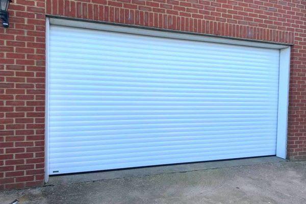 Garage Door Double White