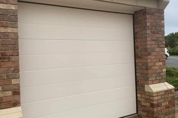 Garage door fancy brick