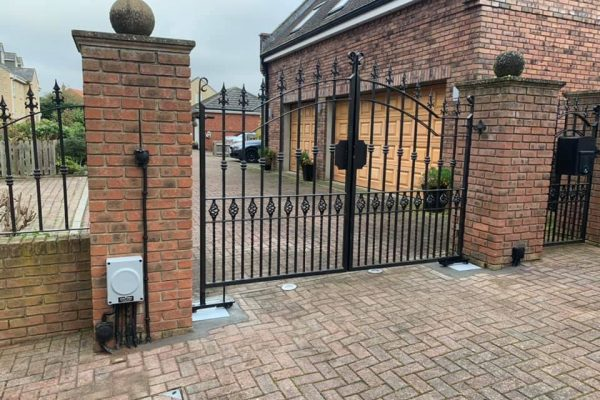 Re-Install Automated Gate In Durham